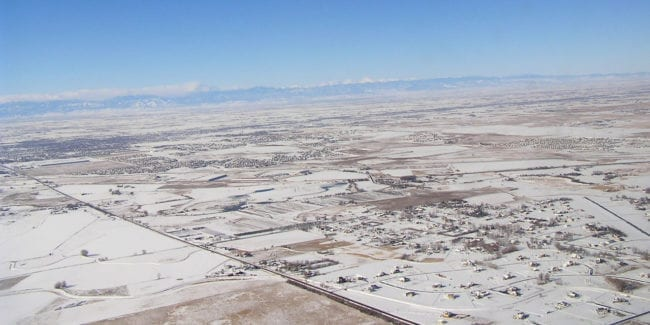 Brighton Colorado Aerial View