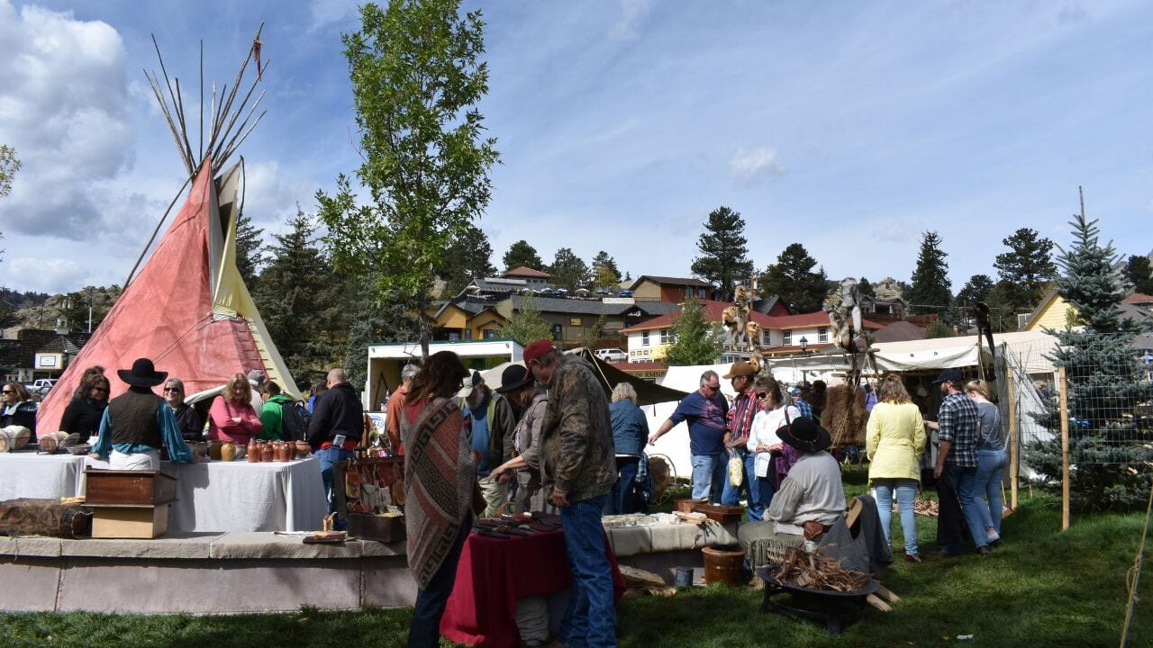 Elk Fest Estes Park Colorado