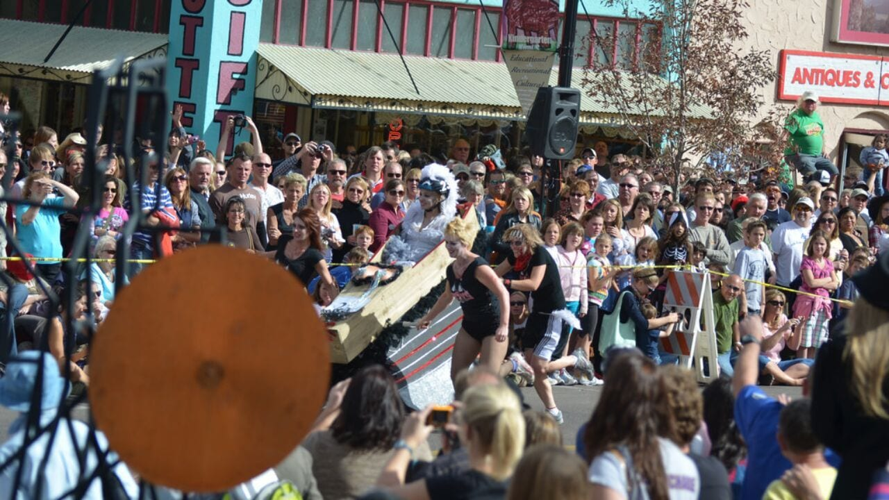 Emma Crawford Coffin Race Manitou Springs Colorado