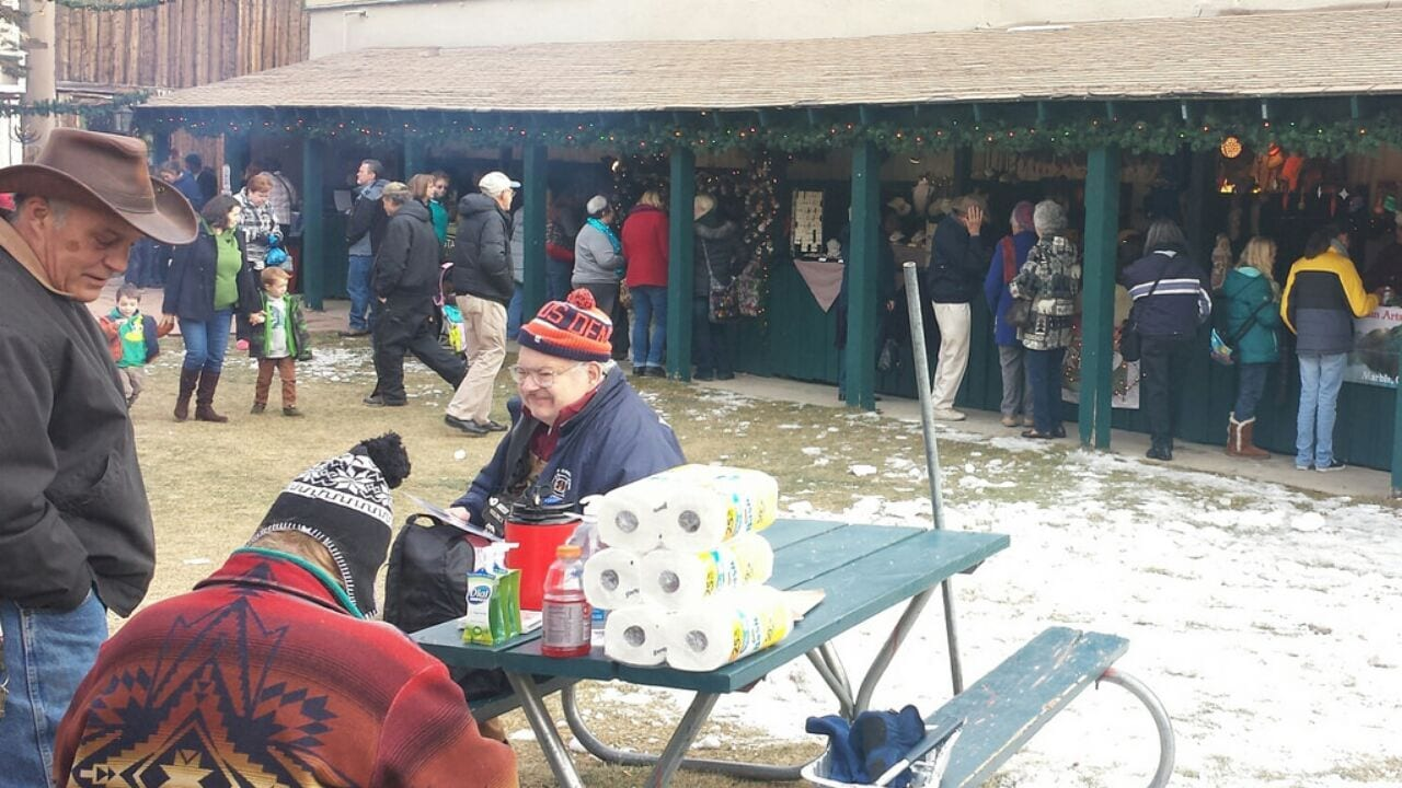 Georgetown Christmas Market Vendors Colorado