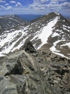 Gray's Peak View From Torreys Peak Colorado