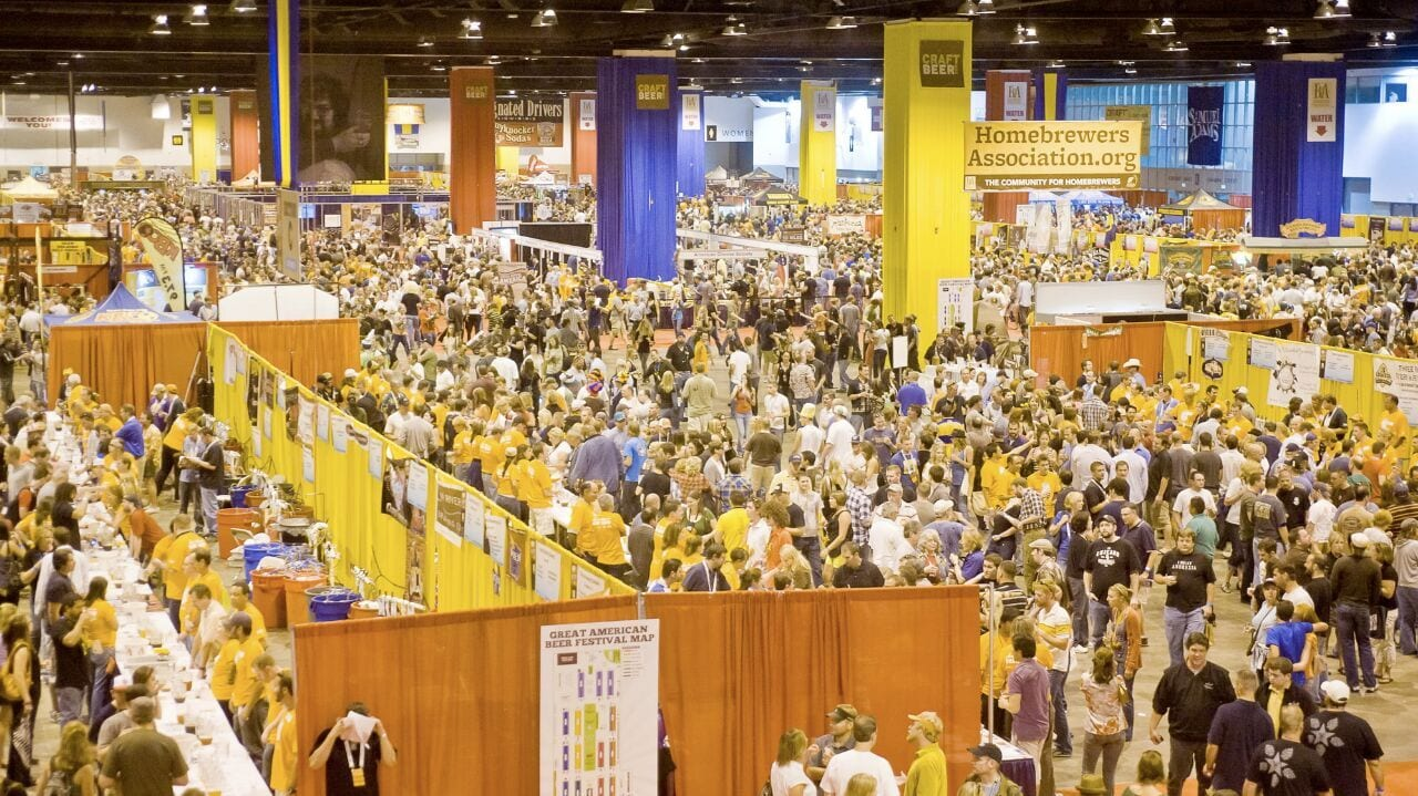 Great American Beer Festival Crowd Denver Colorado