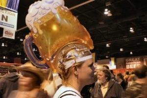 Great American Beer Festival Woman Beer Hat