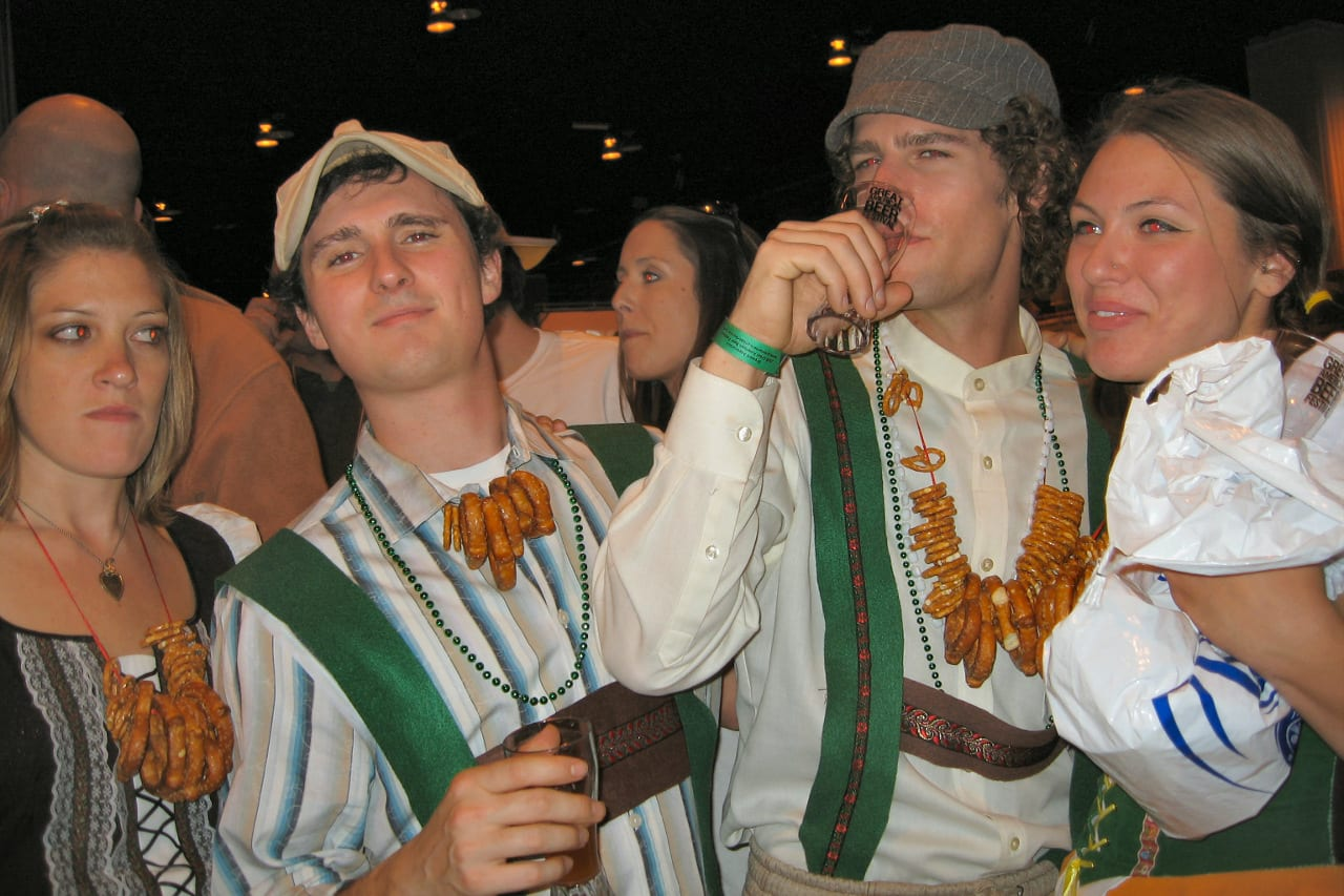 Great American Beer Festival Group Pretzel Necklaces