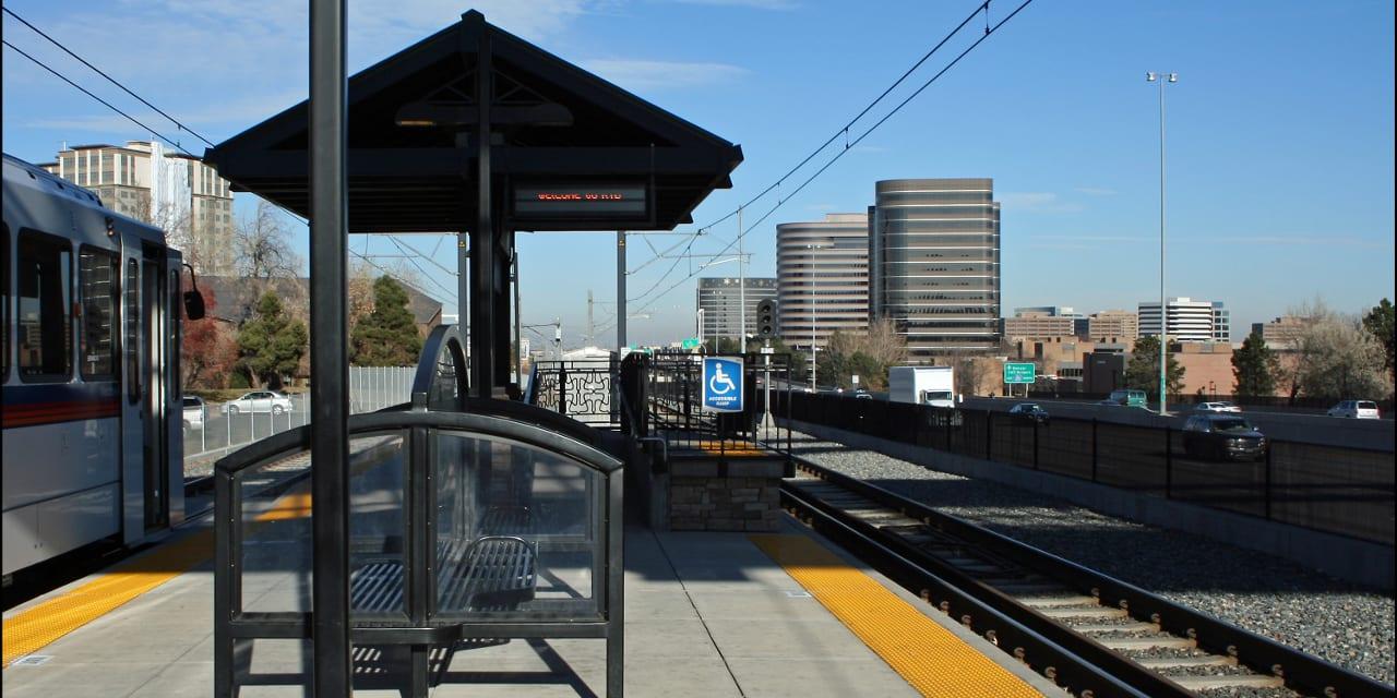 Orchard Light Rail Station Greenwood Village Colorado
