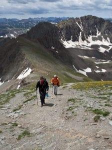 Handies Peak Wilderness Study Area Hiking