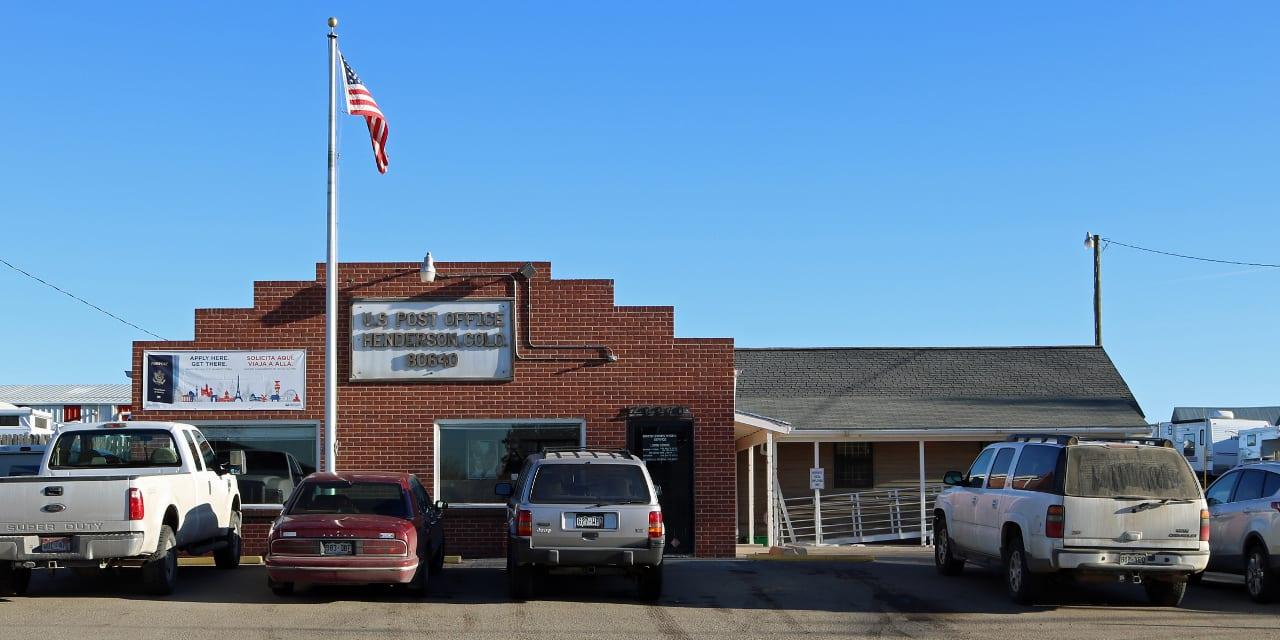 Post Office Henderson Colorado