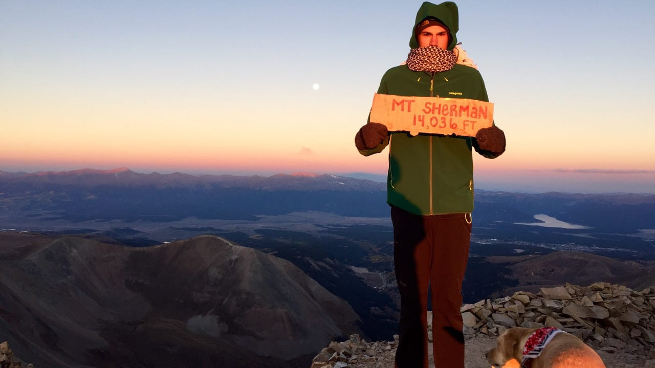 Mount Sherman Sunrise Hike Summit
