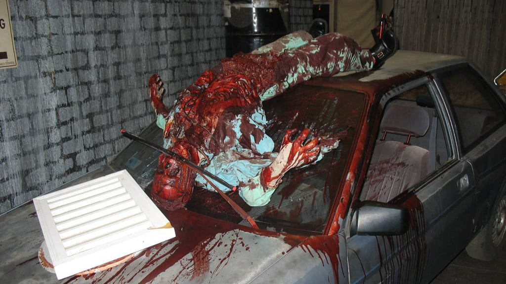 City of the Dead Carnival Carnage Haunted House Dead Body