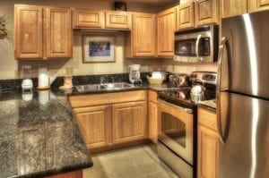 Grand Timber Lodge Kitchen Colorado