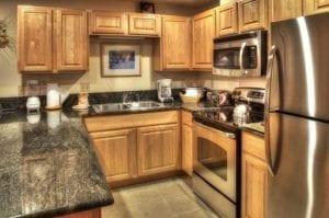 Grand Timber Lodge Kitchen Colorado