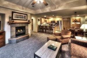 Grand Timber Lodge Living Room Colorado