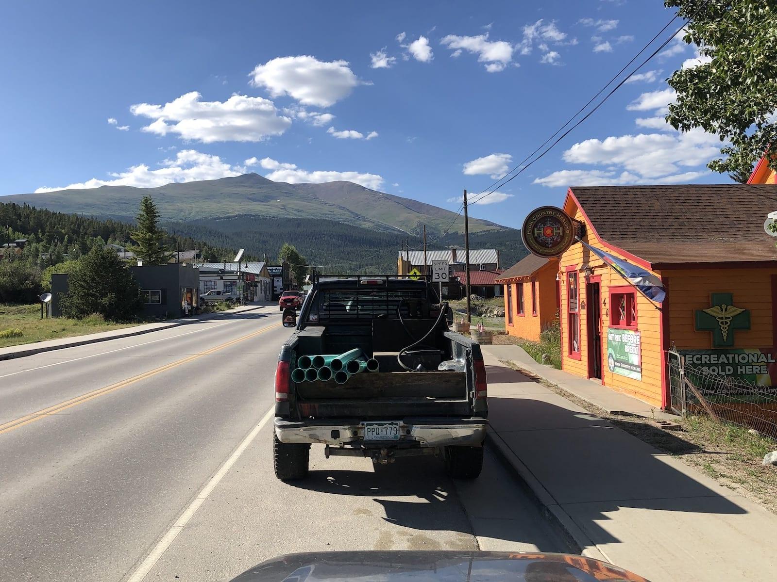 Downtown Alma CO Marijuana Dispensary