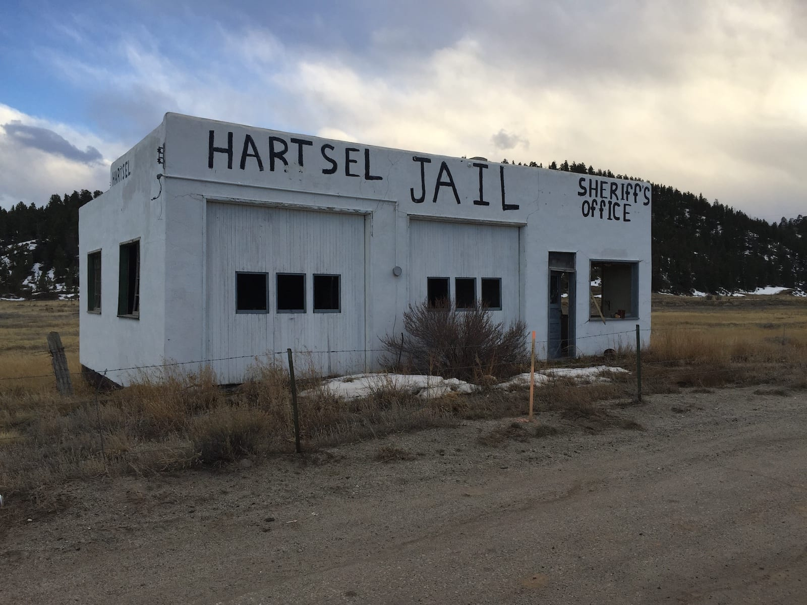 Hartsel Jail Colorado