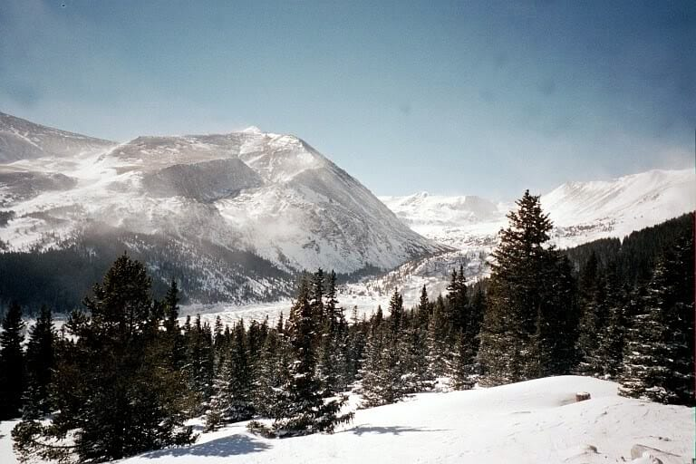 Hoosier Pass South Park Colorado