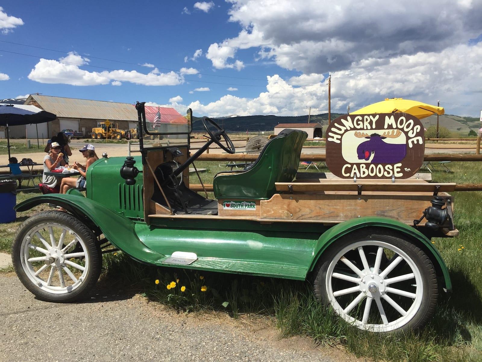 Jefferson Colorado Hungry Moose Caboose Old Car