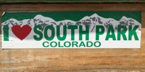 I Heart South Park Colorado Jefferson CO Store Banner
