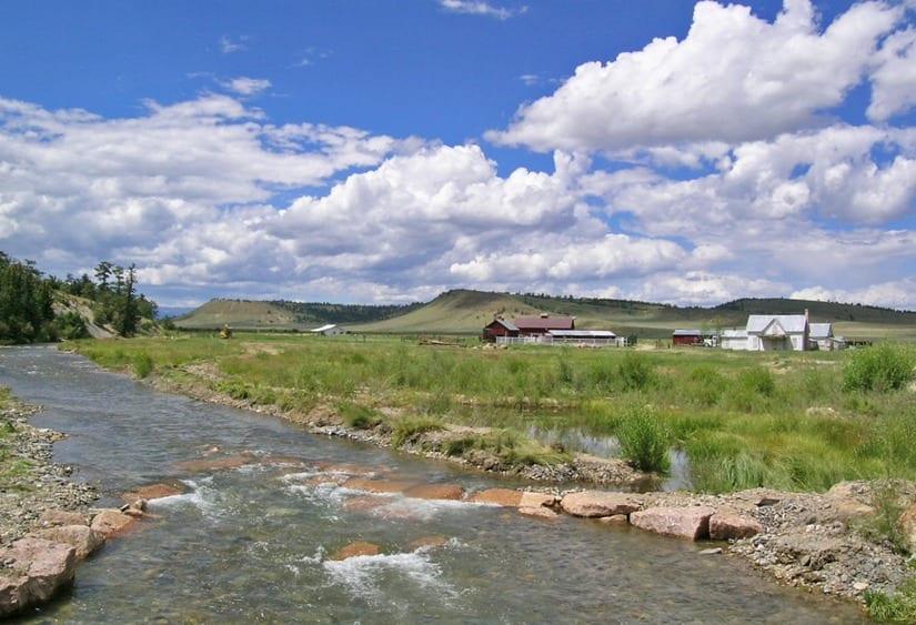 Santa Maria River Ranch South Park Colorado