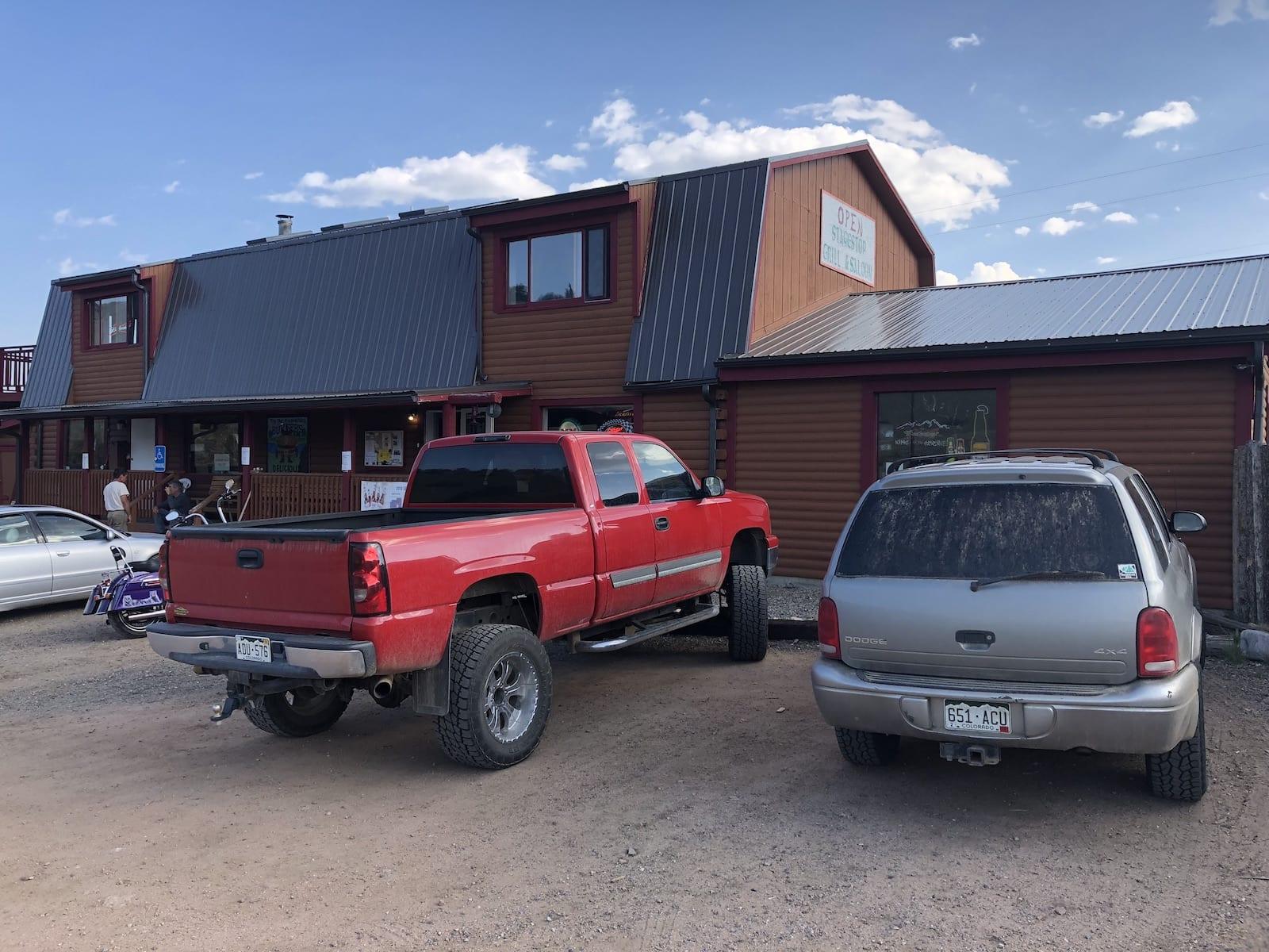 Stagestop Saloon Tarryall Jefferson Colorado