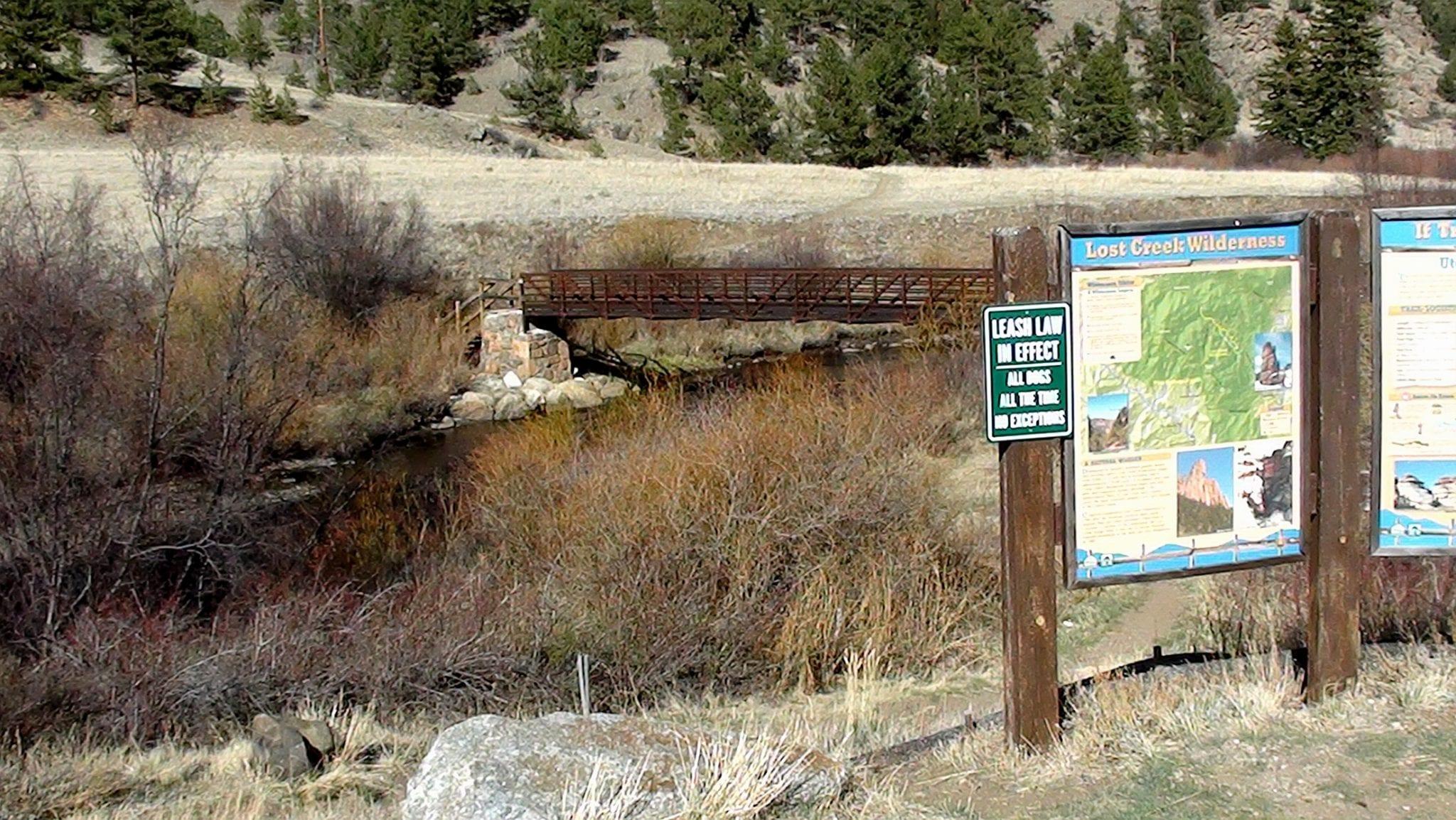 Ute Trail Lost Creek Wilderness South Park Colorado
