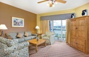Wyndham Pagosa Living Room Colorado
