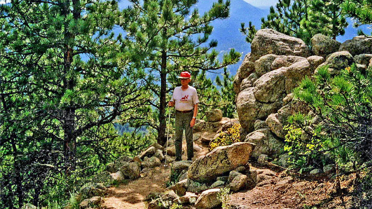 Bald Mountain Hiking Trail Boulder Colorado