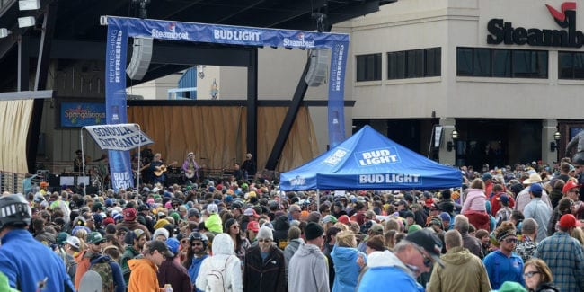 Bud Light Rocks the Boat Music Concert Steamboat Springs