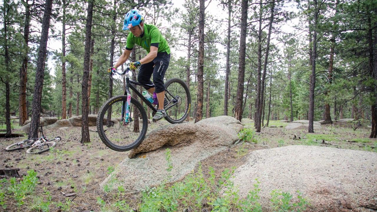 Mountain Biking Buffalo Creek Pine Colorado
