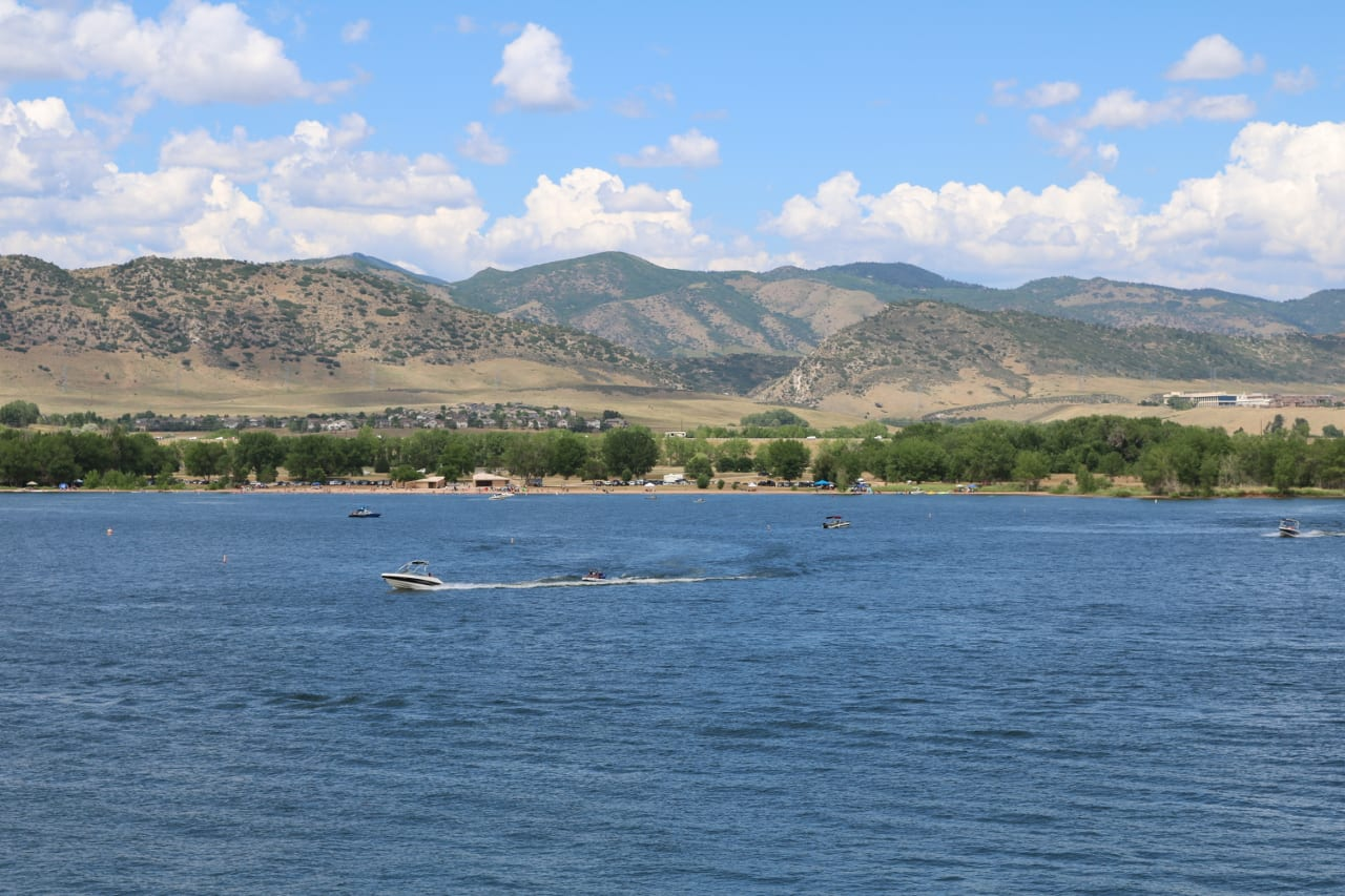10 fantastic fishing spots in colorado best lakes and for Chatfield reservoir fishing