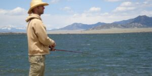 Colorado Trout Fishing Eleven Mile Reservoir