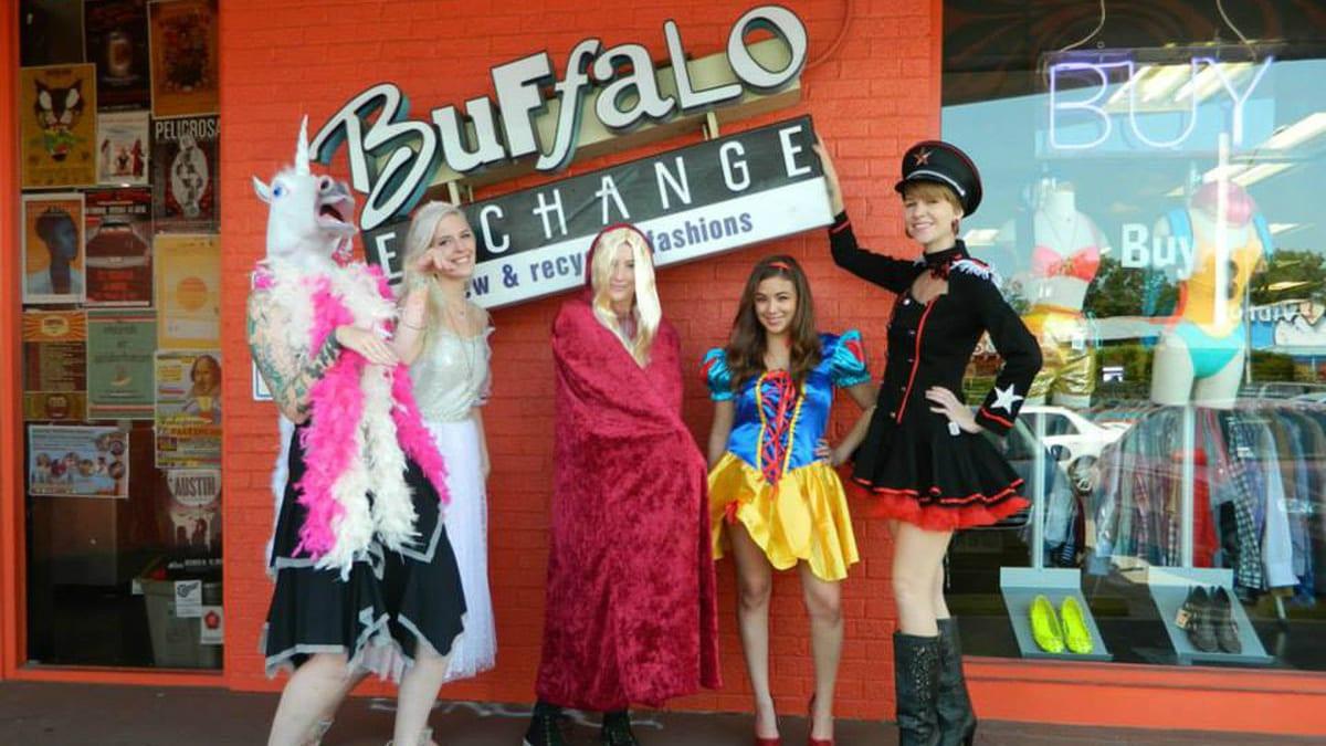 Buffalo Exchange Halloween Store Denver Colorado