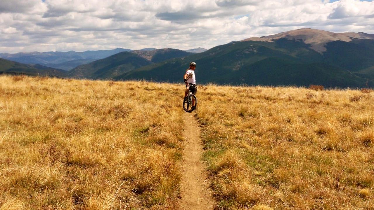 Biking Doctor Park Crested Bute Colorado