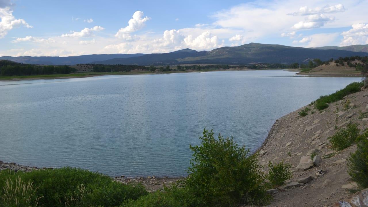 Harvey Gap Reservoir Rifle Colorado