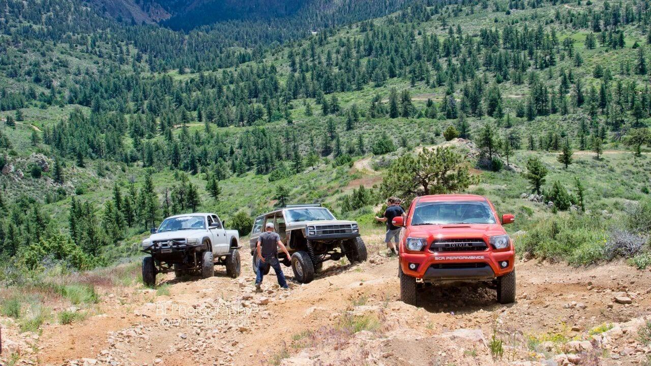 Kelley Flats Off Road Jeep Trail Colorado