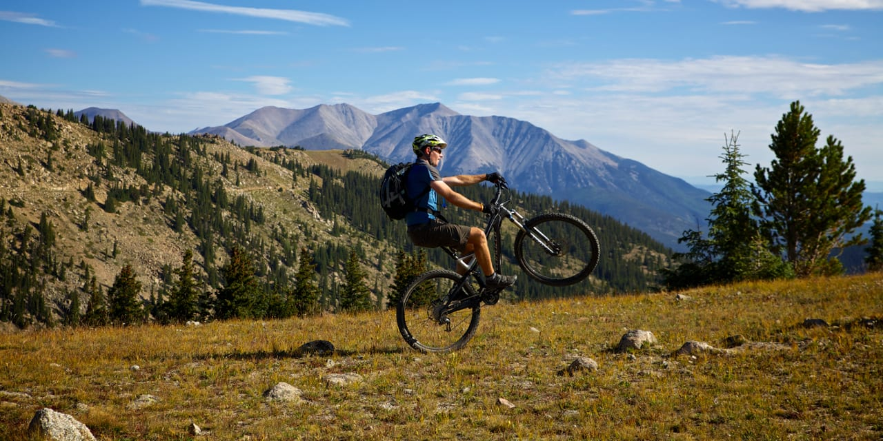 Monarch Crest Bike Trail Salida Colorado