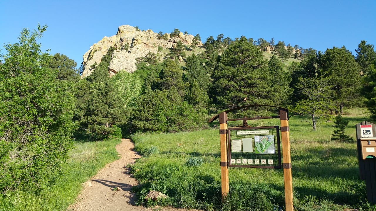Mount Sanitas Trailhead Boulder Colorado
