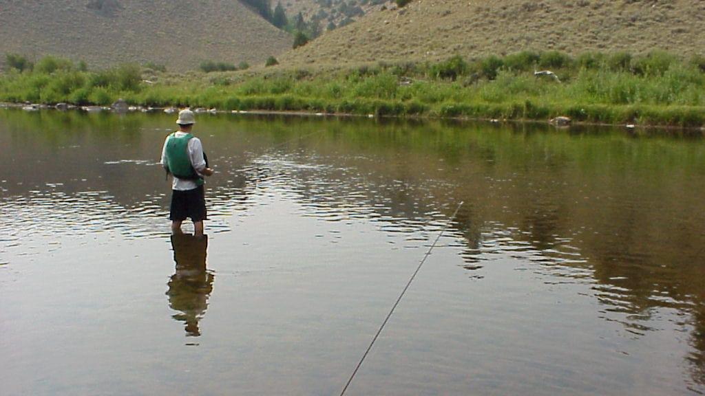 Northgate Canyon North Platte River Fishing Colorado