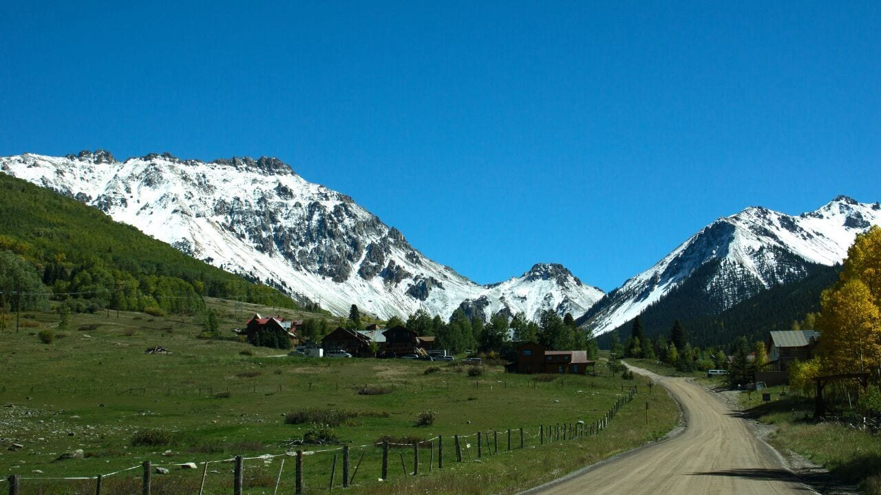 Ophir Pass Off Road Jeep Trail Colorado