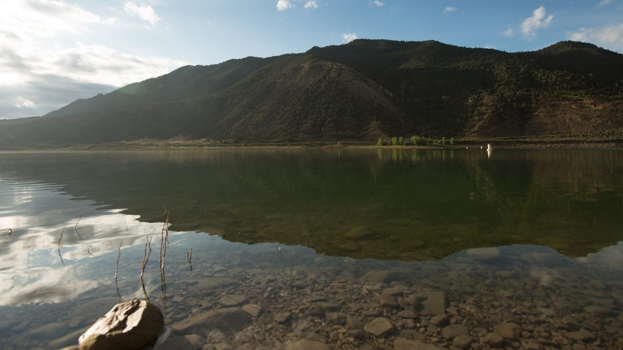 Rifle Gap Reservoir State Park Colorado
