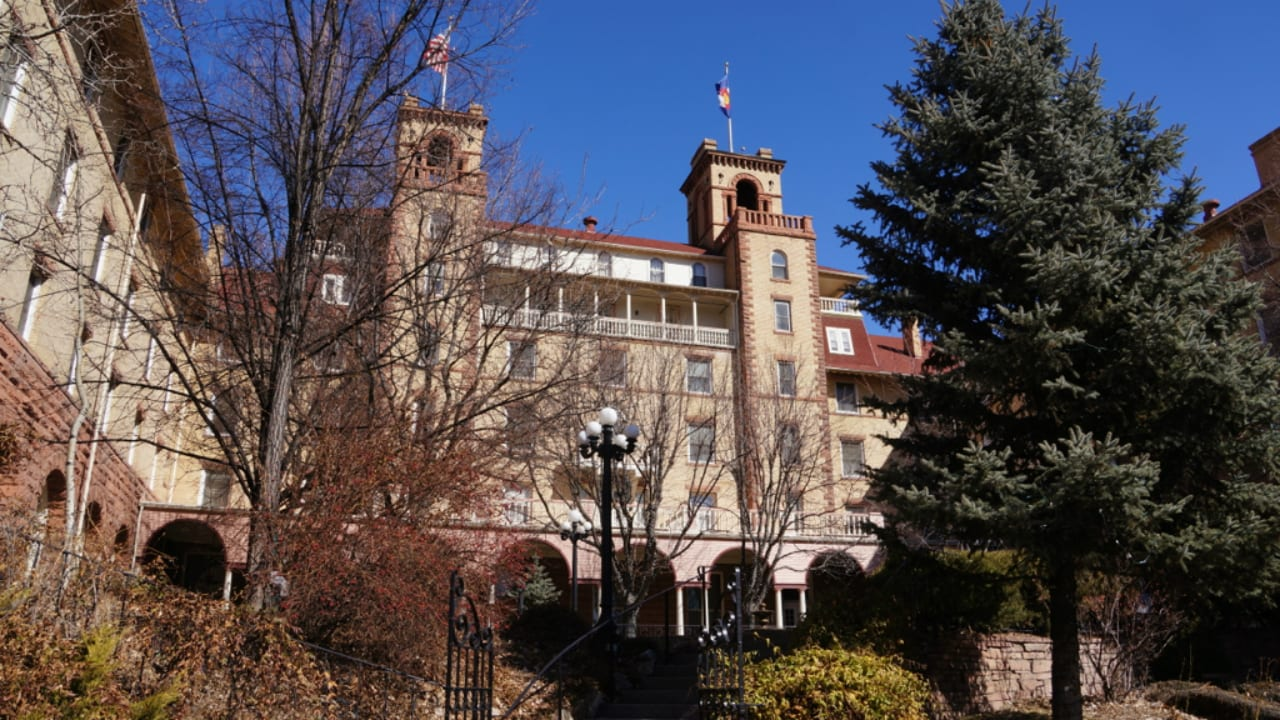 Hotel Colorado Haunted Glenwood Springs Colorado