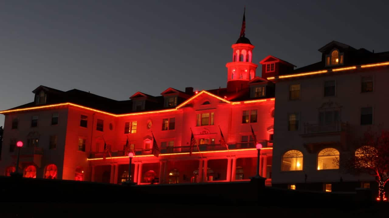 Stanley Hotel Haunted Estes Park Colorado