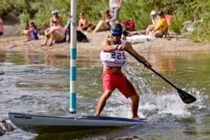 SUP Cross Mike Tavares FIBArk Salida Colorado