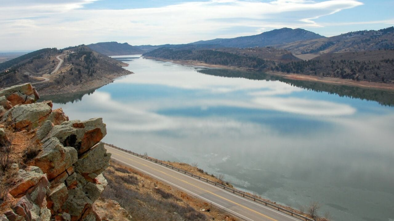 Horsetooth Reservoir Fort Collins Colorado