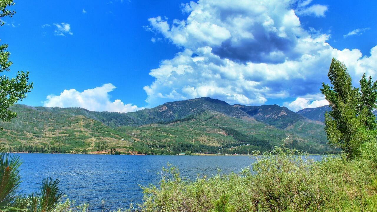 Vallecito Lake Durango Colorado