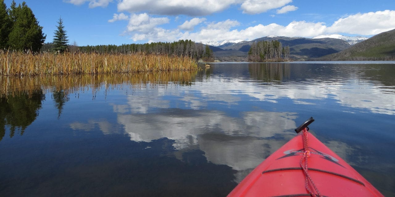 Shadow Mountain Lake Kayaking Colorado