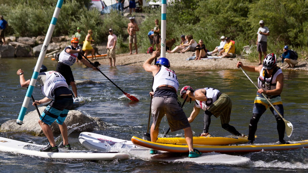 SUP Competition FIBArk Salida Colorado