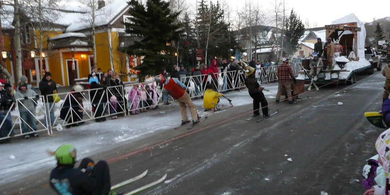 Ullr Fest Parade Breckenridge Colorado