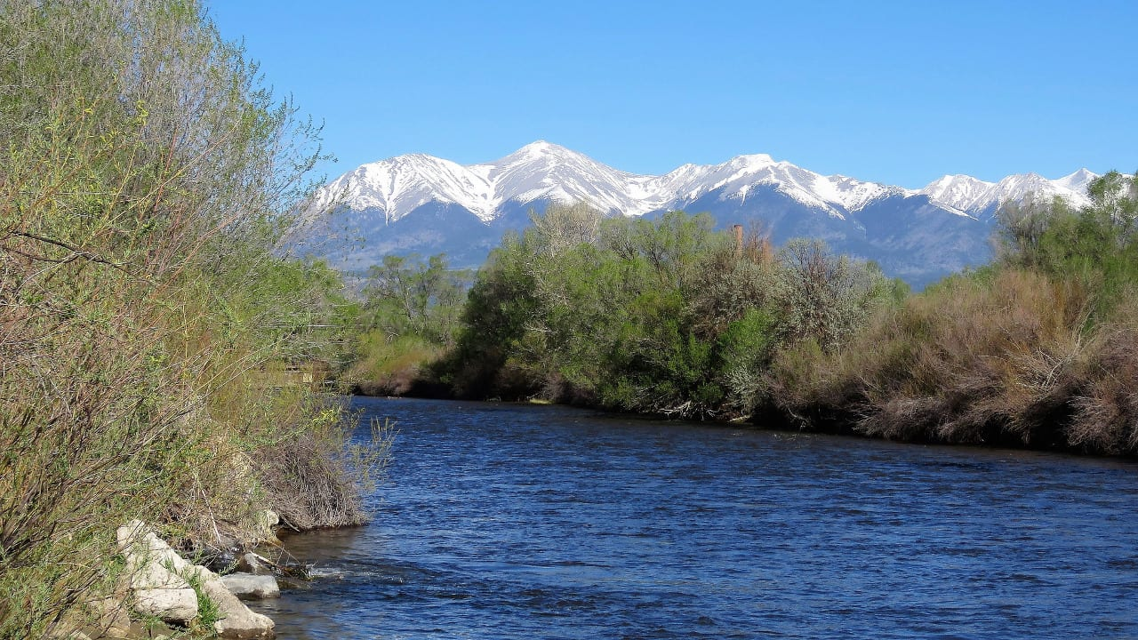 Upper Arkansas River Fishing Colorado