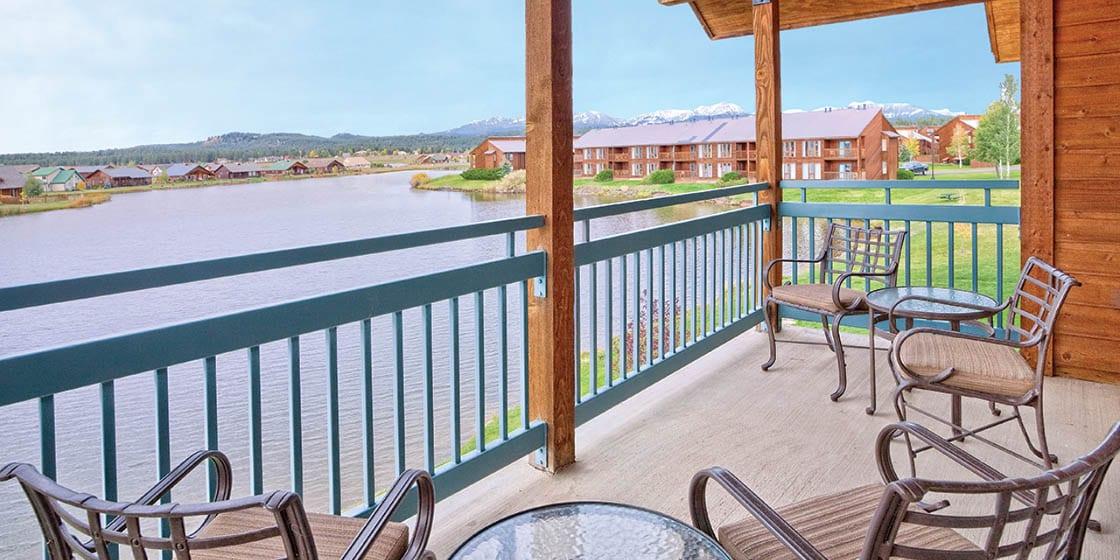 Wynhdam Pagosa Balcony Lake View Colorado