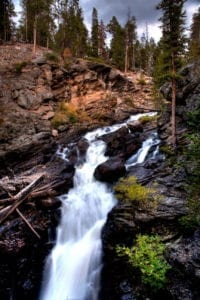 Adams Falls Rocky Mountain National Park